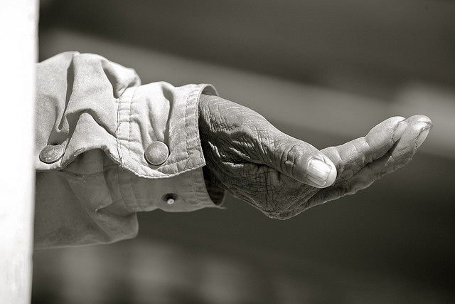 Original photo by Alex Proimos, The Hand. Used by Creative Commons License. http://ow.ly/IHuJH