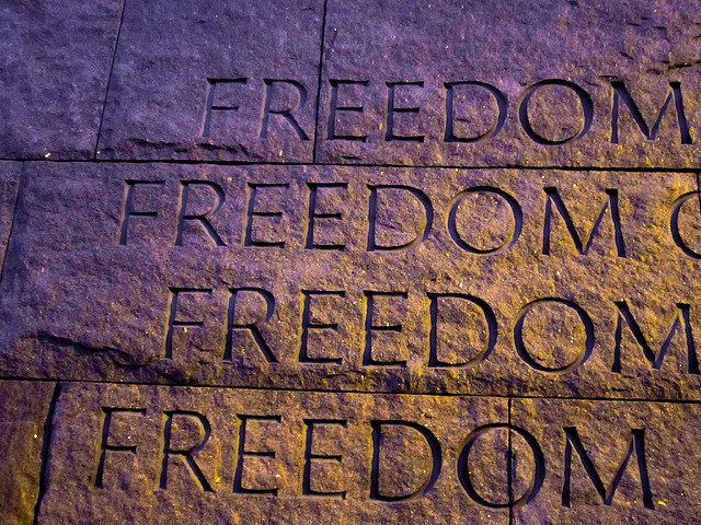 Freedom by Osajus, used by CC license.  http://ow.ly/TL2U305uPoi