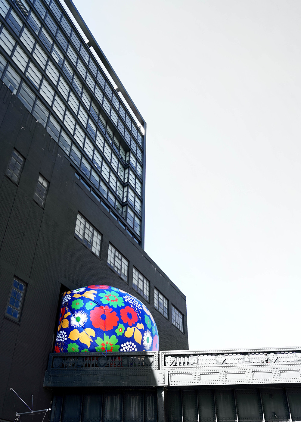 Inside Kukkatori Swing, the name of a Marimekko pattern, are six swings replete with slow-motion video for social sharing.