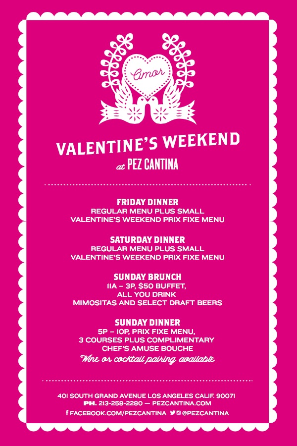 Pez Cantina Valentines