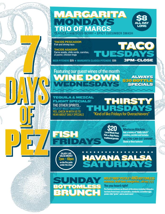 Pez Cantina 7days of PEZ