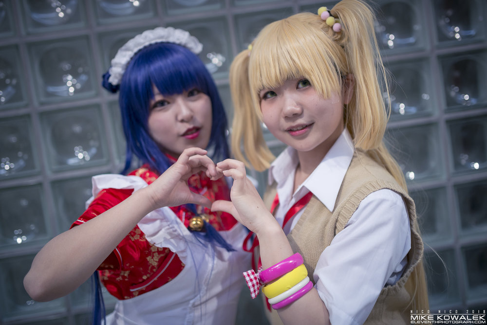 Cosplay by:  Nuttygumi  and  0601_iku