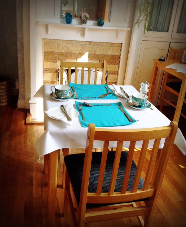 Image by  Kelly Chang , dinning room in Kirkgate House