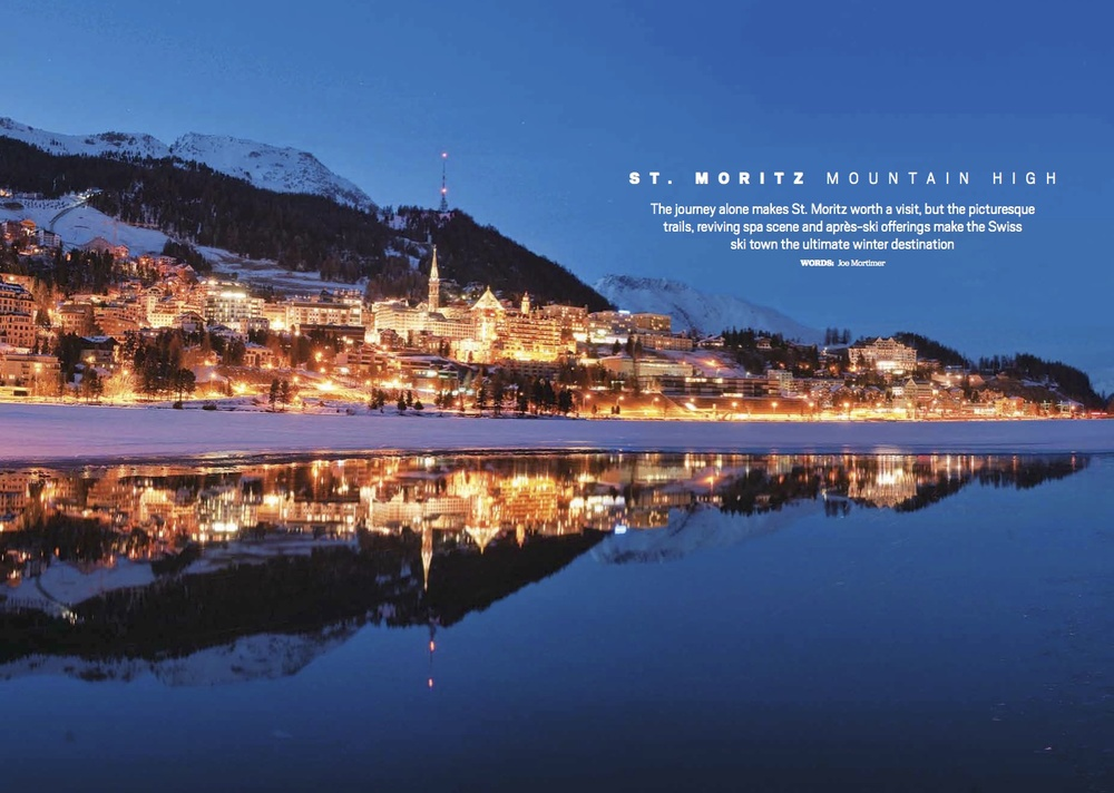St. Moritz: Mountain High