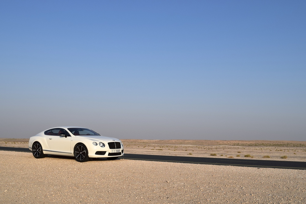 Bentley, Dubai Desert