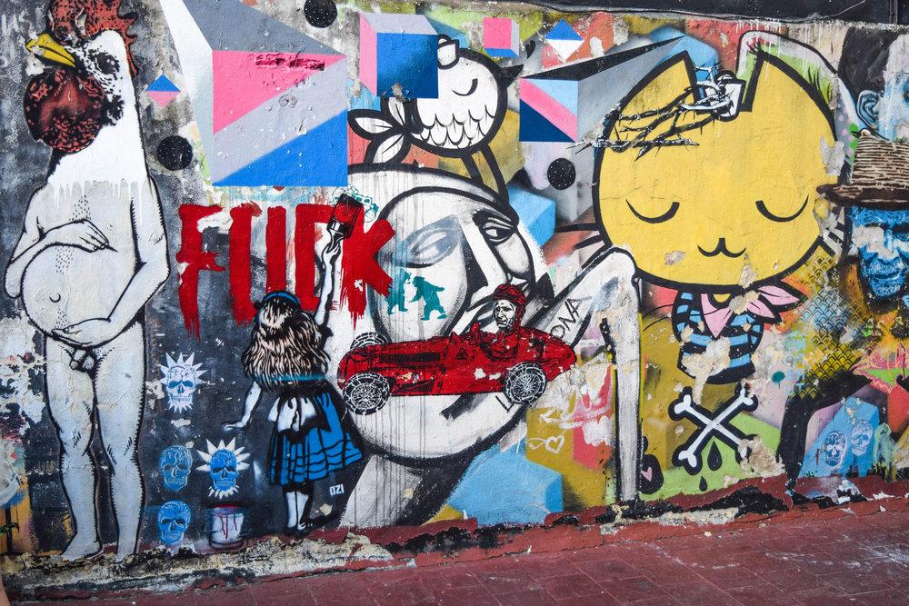Alice in Graffitiland