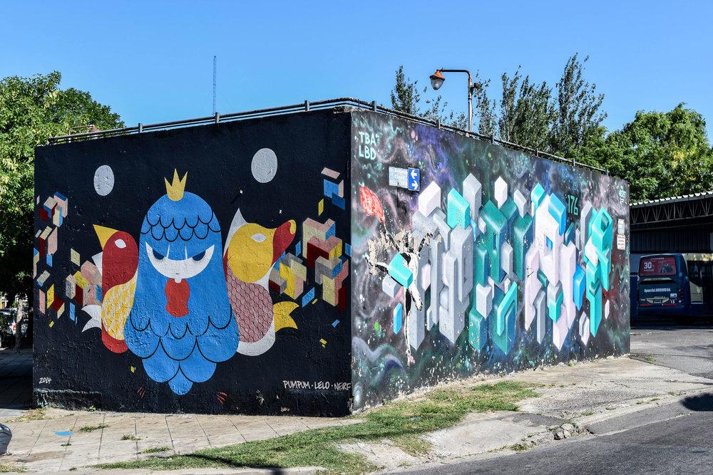 Street art collaboration