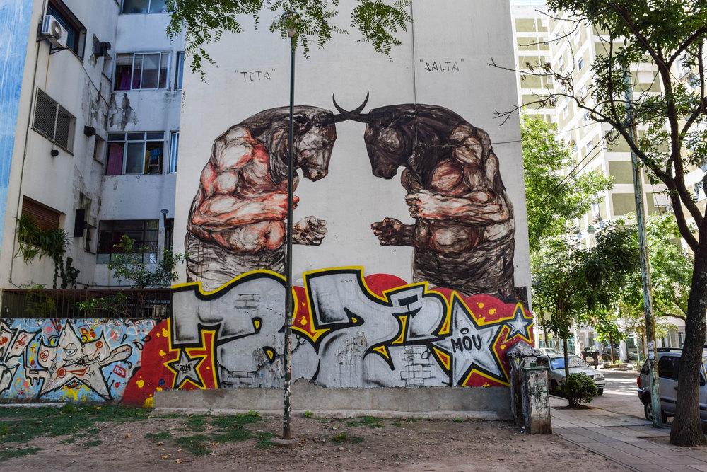 Jaz - Buenos Aires street art