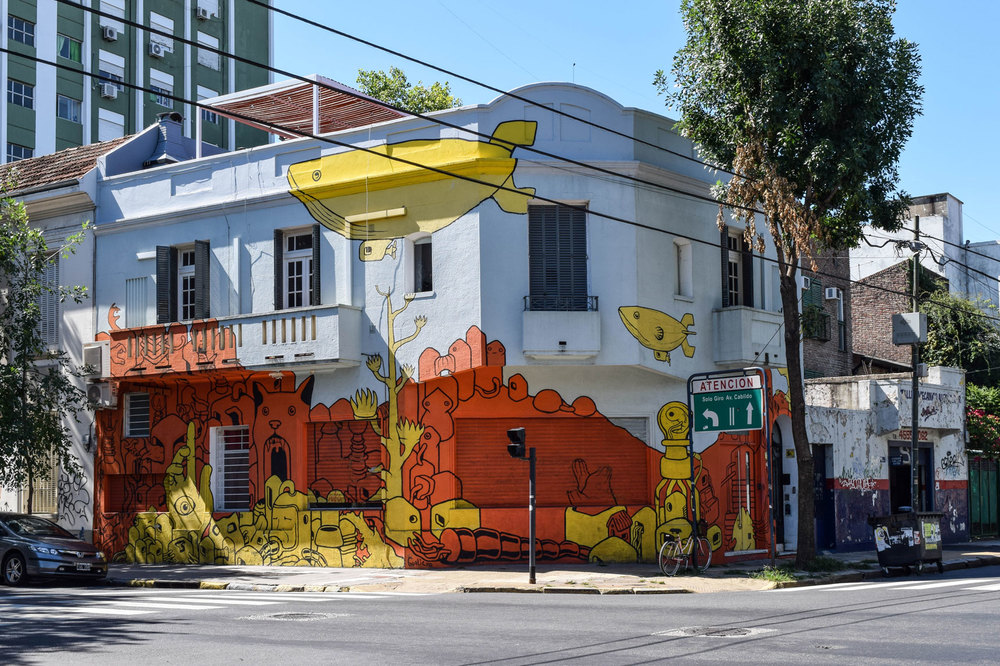 Graffitimundo northern Buenos Aires