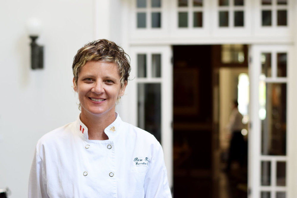 Chef Rose Forbes at Hotel B