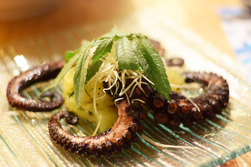Peru is renowned for its grilled octopus