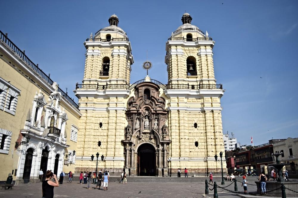Lima's historic centre