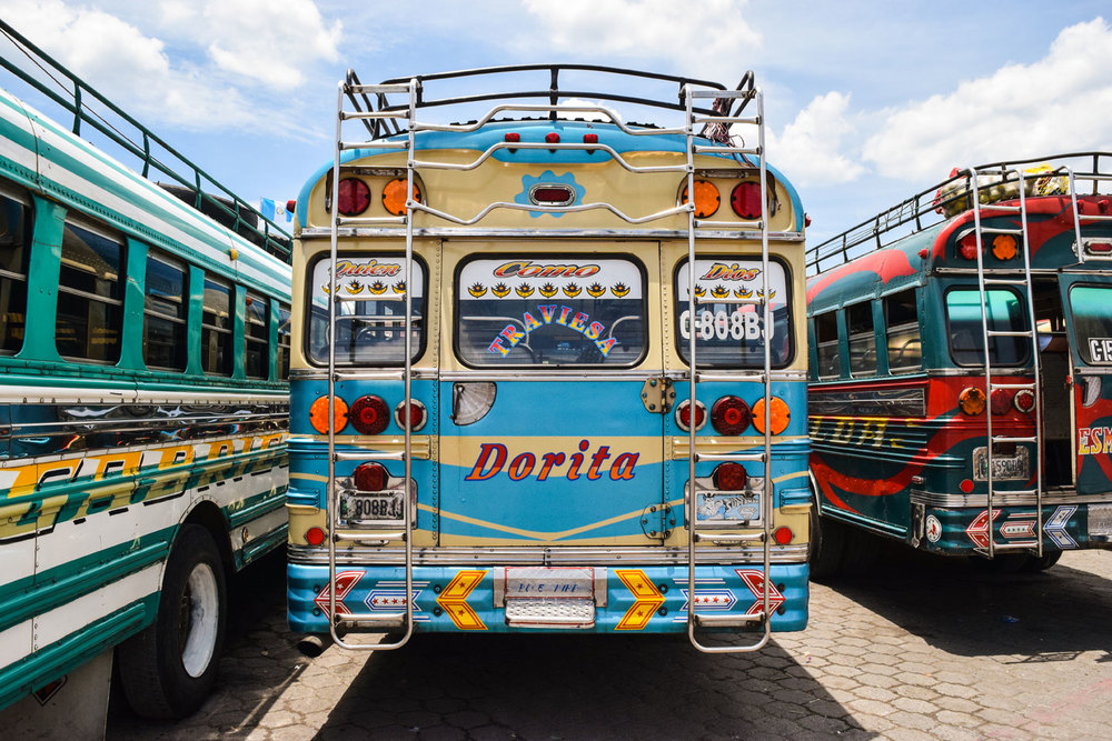 Chicken bus, Antigua