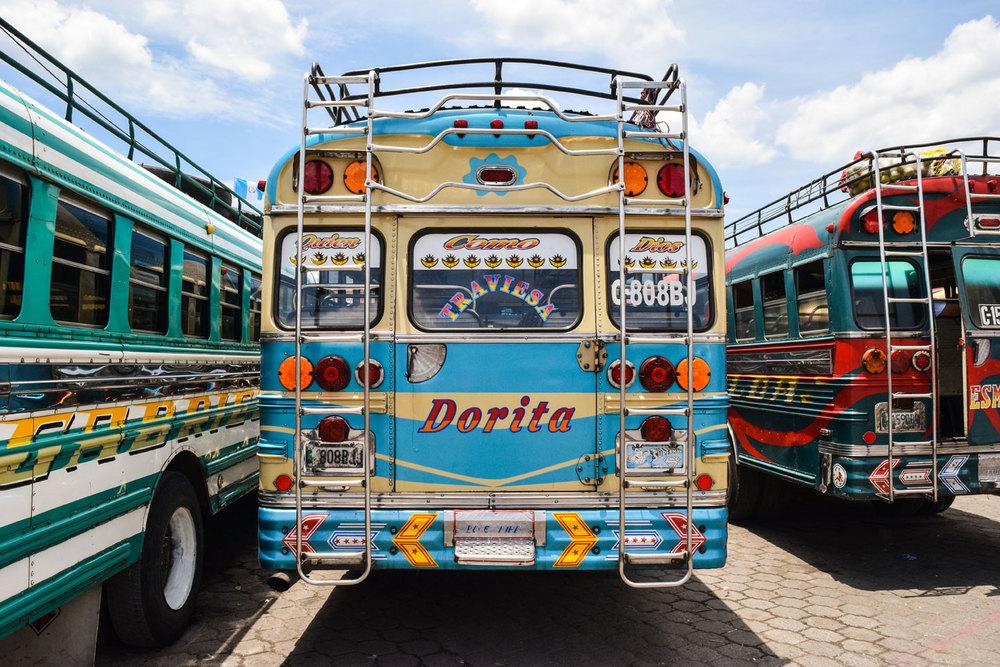 Chicken bus, Antigua