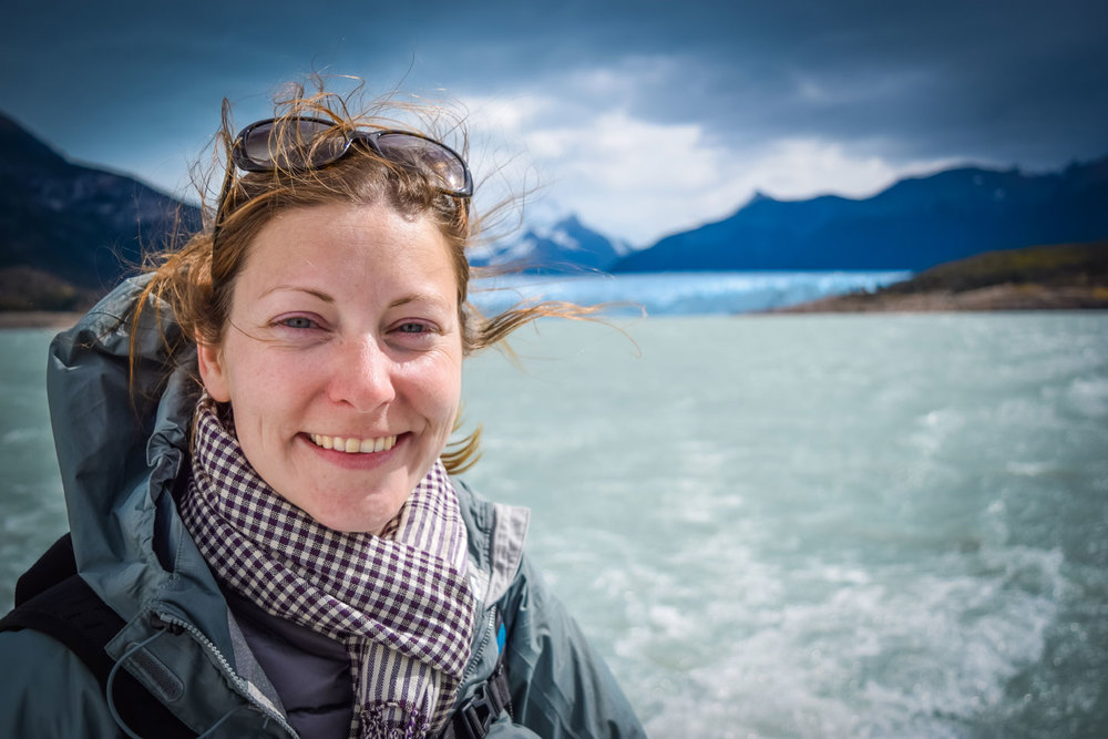 Lucy, Perito Moreno Glaciar