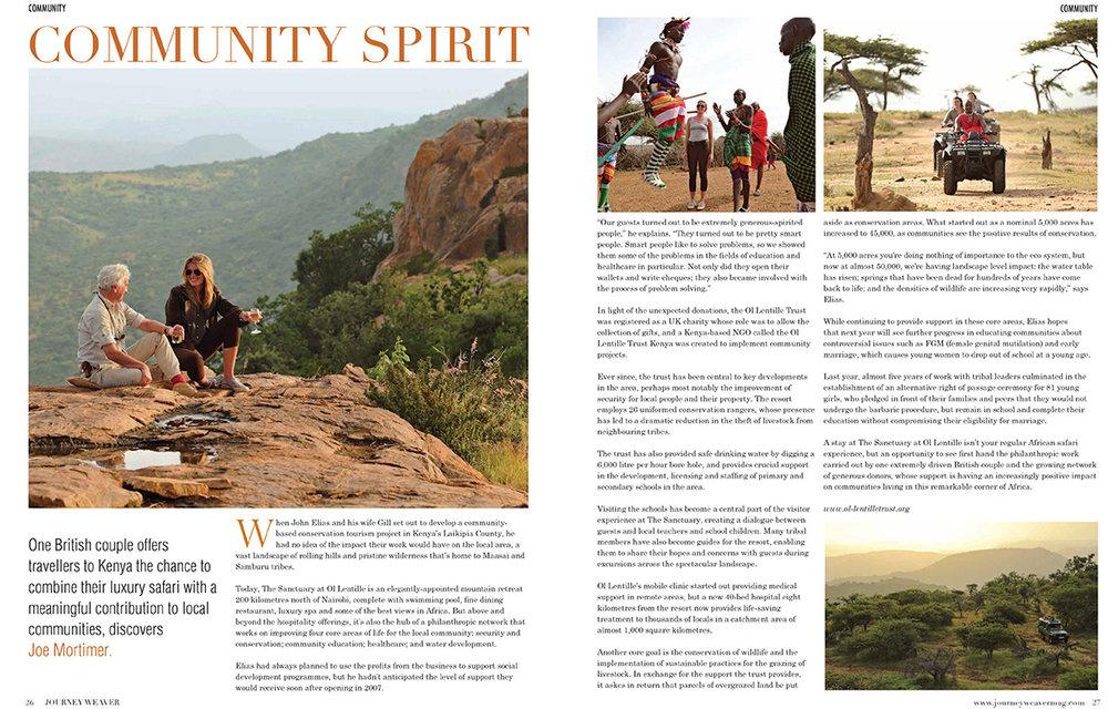 Ol Lentile, Kenya - Journey Weaver