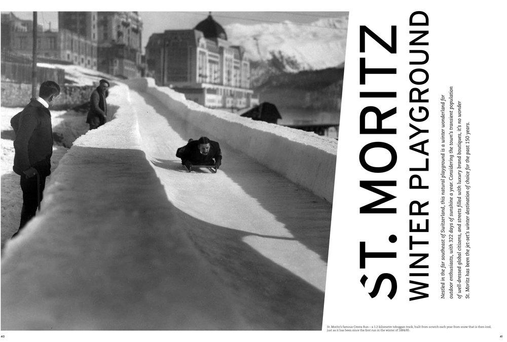 St. Moritz - Winter Playground