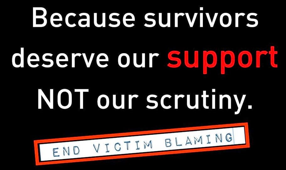 survivor support, victim blaming, will bratt counselling