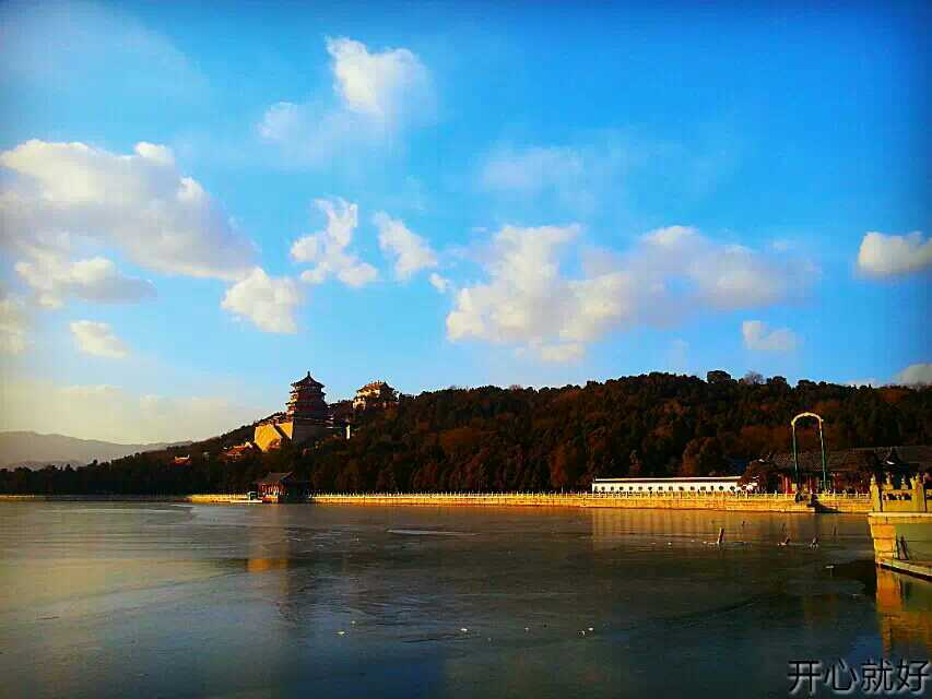 The famous Summer Palace