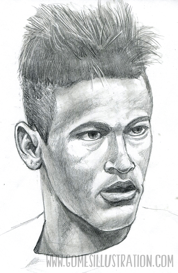 Neymar study for Game Changer