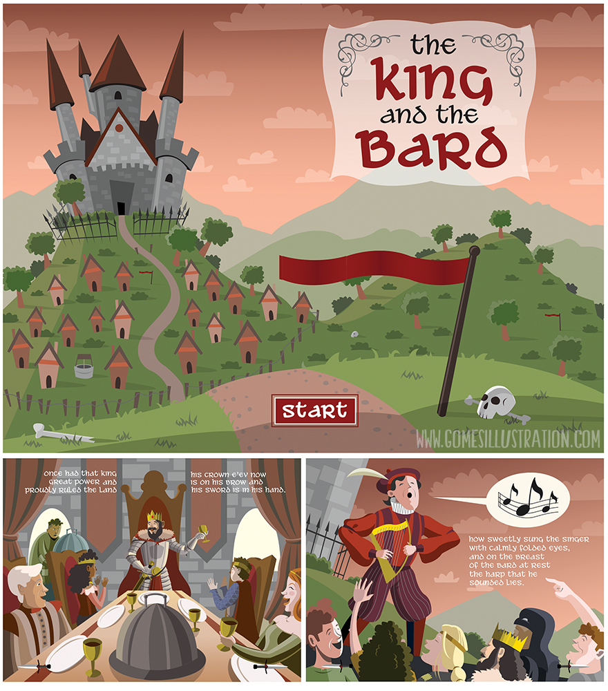 The King and the Bard