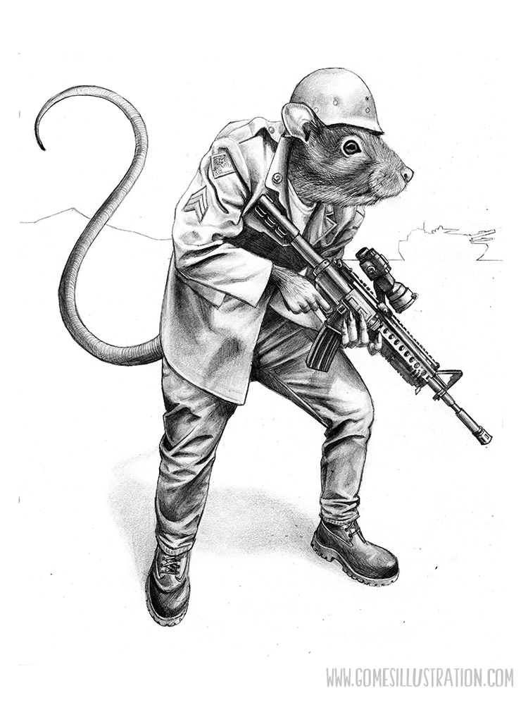 War Rat - Pencil 2012