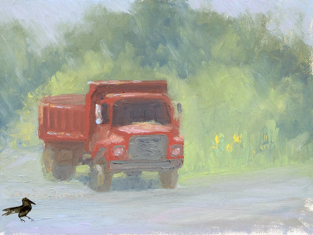 The Red Truck.