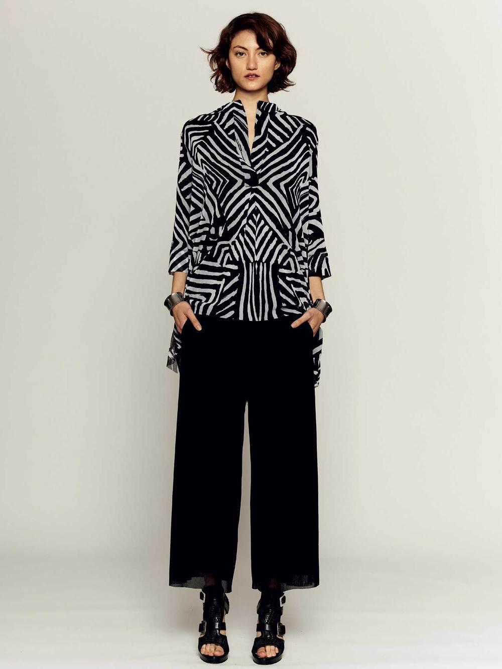 F61117 Camicia man. 3/4 - F61154 Pantalone