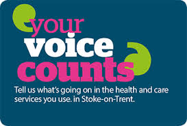 Click on image for more about the work of Healthwatch Staffordshire