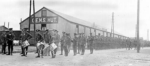 Church of England Men's Society Parade - Rugeley Camp