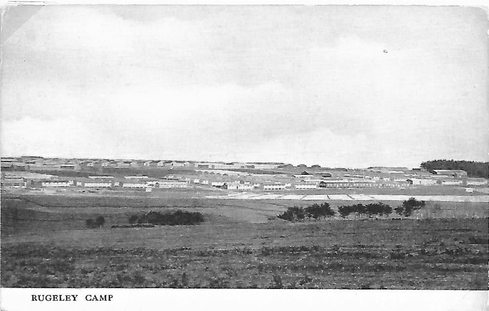 Rugeley Camp from the distance
