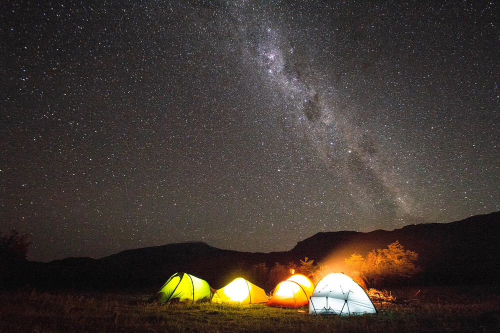 No towns means for some spectacular starry skies Photo: Sam Oakes