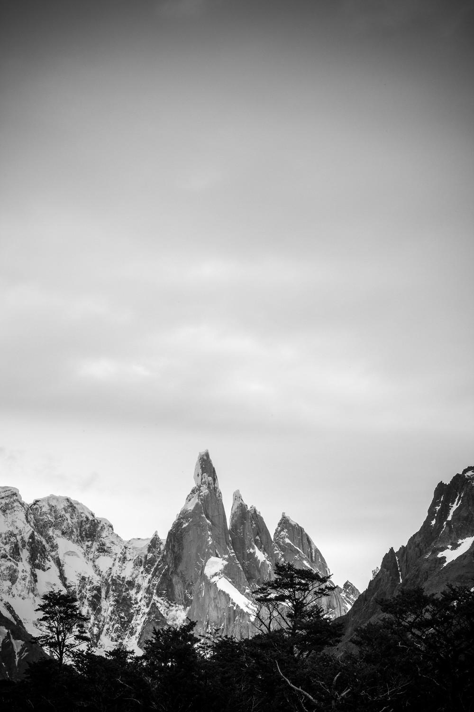 Approaching Cerro Torre