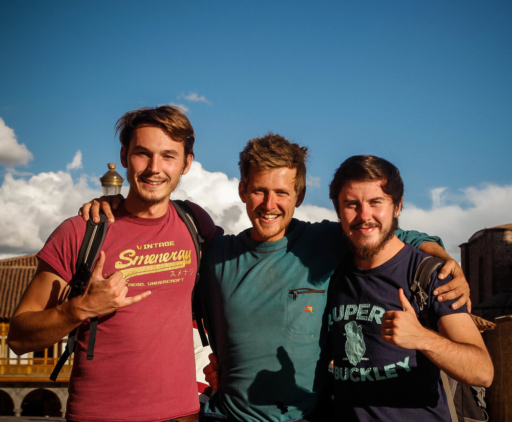 An impromptu meet up with two fellow Durham geographers, Mike Yorke and Matt Henderson, in Cusco.