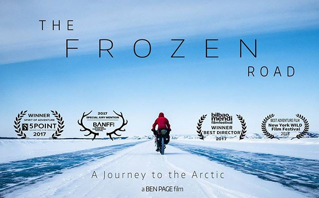 ITS LIVE! The Frozen Road is now FREE TO STREAM online. Follow the link in my bio to watch it. I'd love to hear your thoughts so please let me know :) EXCITING!!! Also, for any kind souls who would like to support the film and help me turn the rest of the 3 years footage into a feature film, I have a 'name your price' download link on my website so you can watch the film at your leisure AND help make more films a reality in the future! Thanks!! . . . #bikepacking #mountains #arctic #winter #adventure #explore #wilderness #solitude #camping #extreme