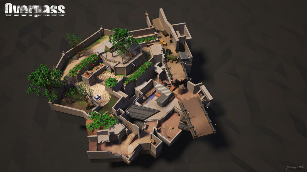 Modelling of a Game's Map