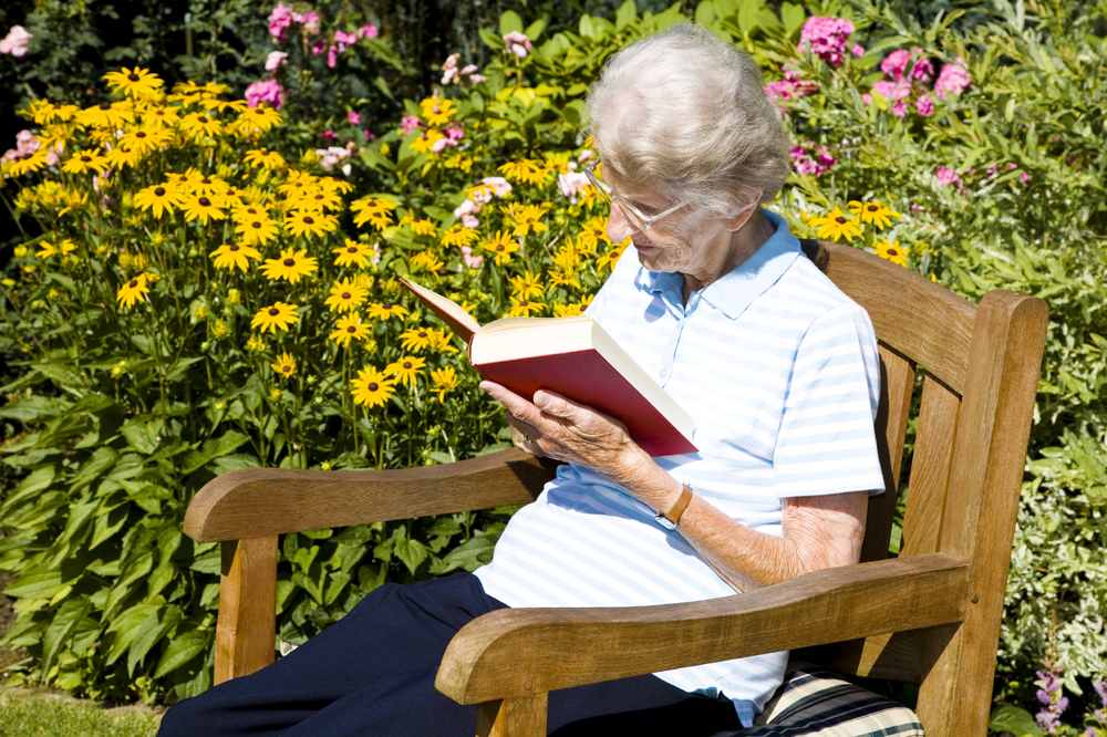 Concerned about aging parents? Get help to create an outdoor space that's both nurturing and safely independent.