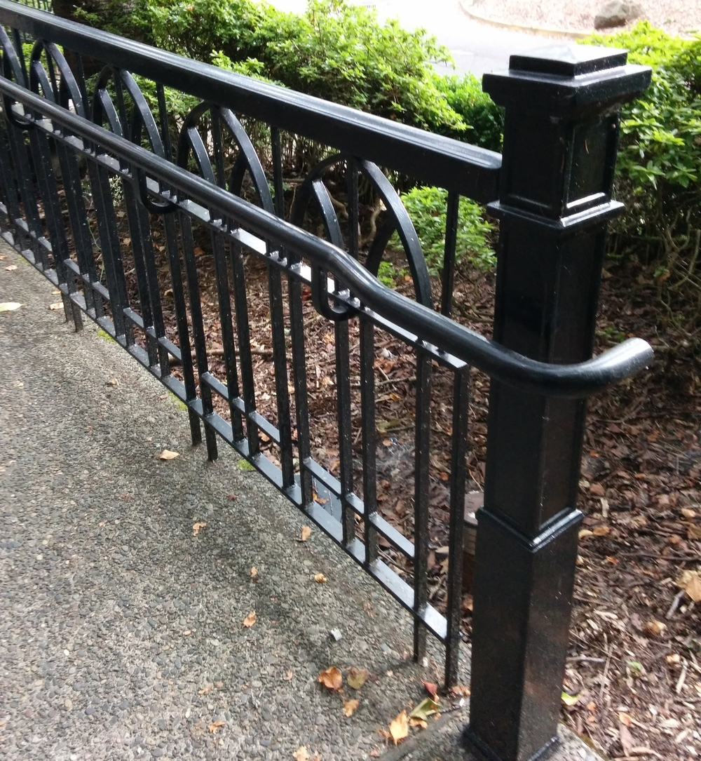 Historic style handrail to match house style