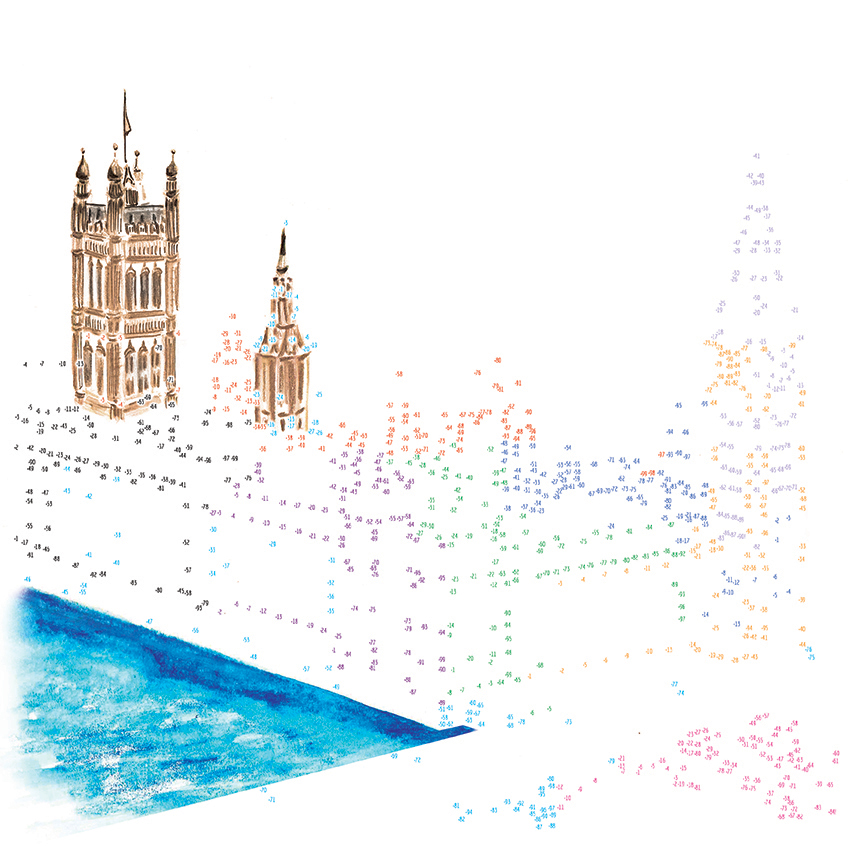 Paleis van Westminster, Londen, Groot Brittanie.jpg