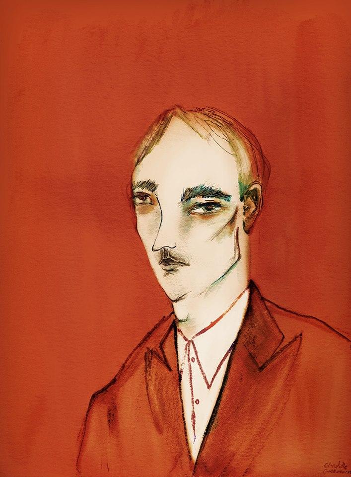 Portrait Studies in Red