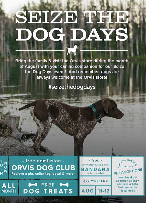 Orvis Seize the Dog Days — GRRoW