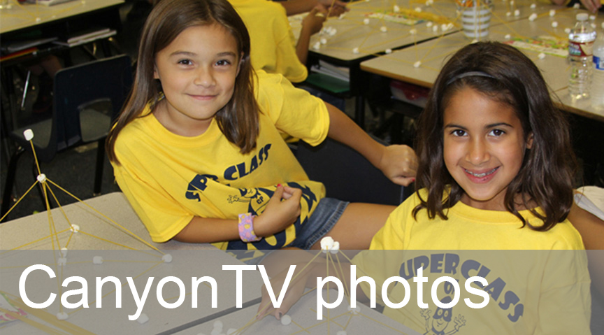 Click here for  CanyonTV's photo  archives.
