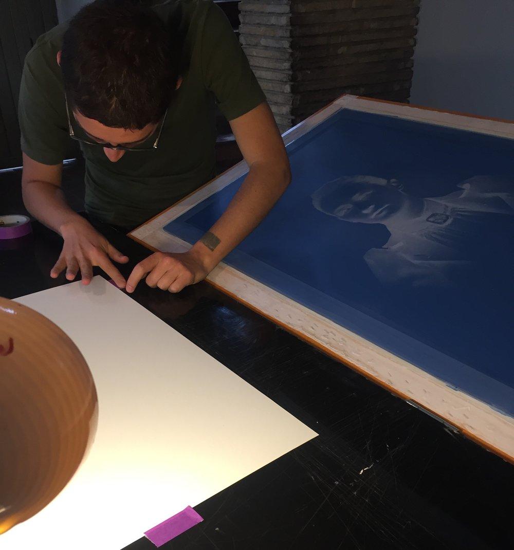 Producción múltiple en serigrafía 'Af Klint',  Conceptual & Paranormal