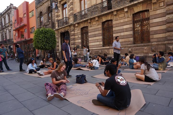 FOCUS: Binational Showcase is a binational arts program run by the Museum of Contemporary Art San Diego and Museo Tamayo take to the streets to work collaboratively in the midst of the hustle and bustle of Mexico City.   Courtesy photo