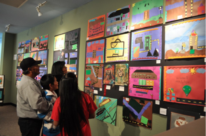 For more than 35 years, the Indian Pueblo Cultural Center has supported our next generation of indigenous artists with the annual Native American Student Art Show. The event encourages students to express their personal creativity while reflecting upon their deep-rooted history and traditions. This juried art show is open to Native American students in grades Pre-K through 12.
