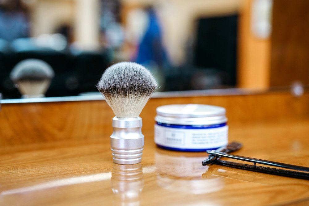 ShaveCream + ShaveBrush Set