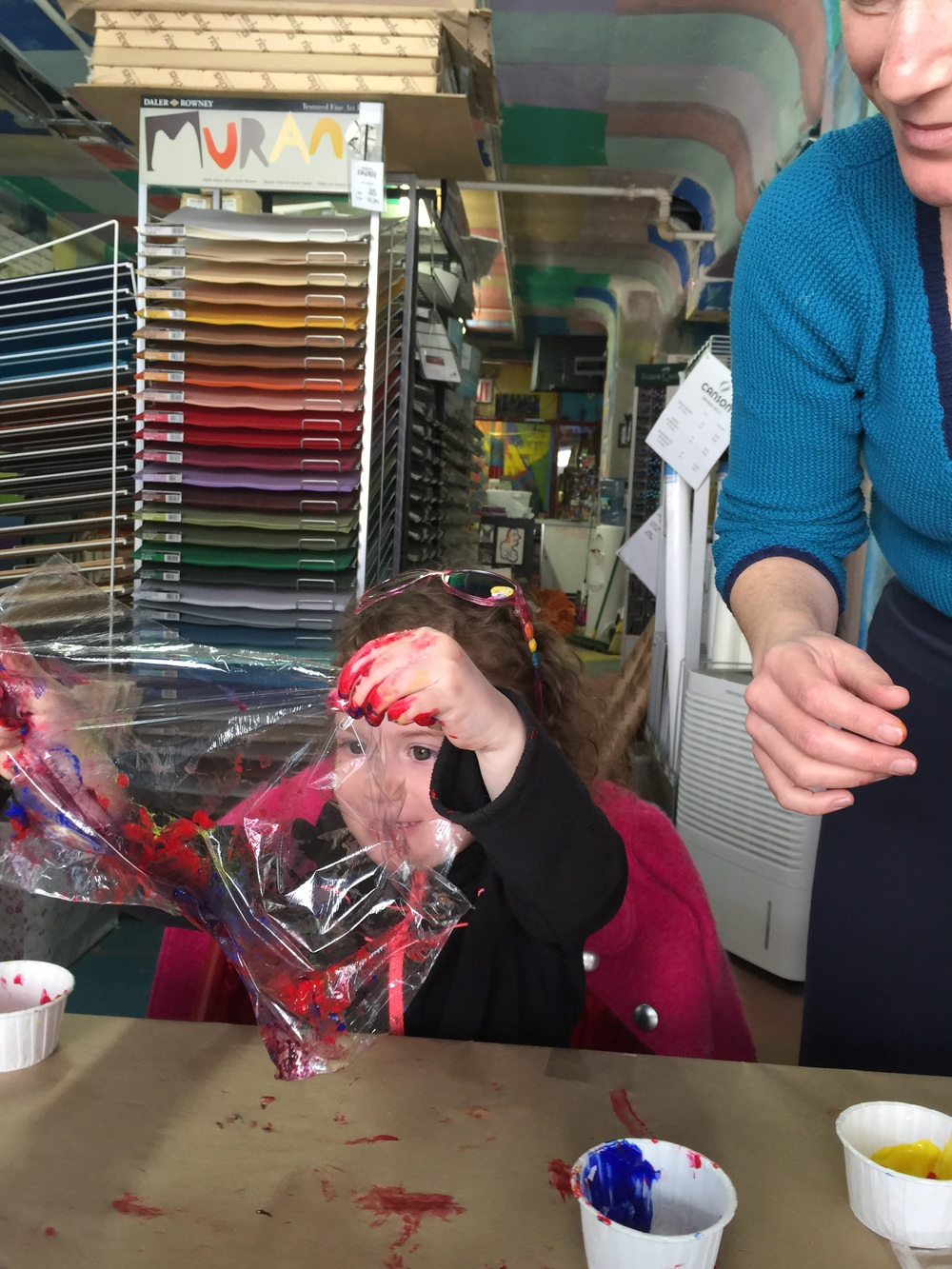 Mixing colors is so exciting! Just ask Ciela!