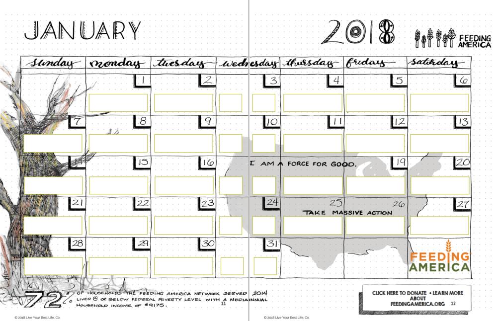 JPG January Calendar goal setting creative organic journal.png ...  sc 1 st  The Art Table Studio & Journal \u2014 The Art Table Studio