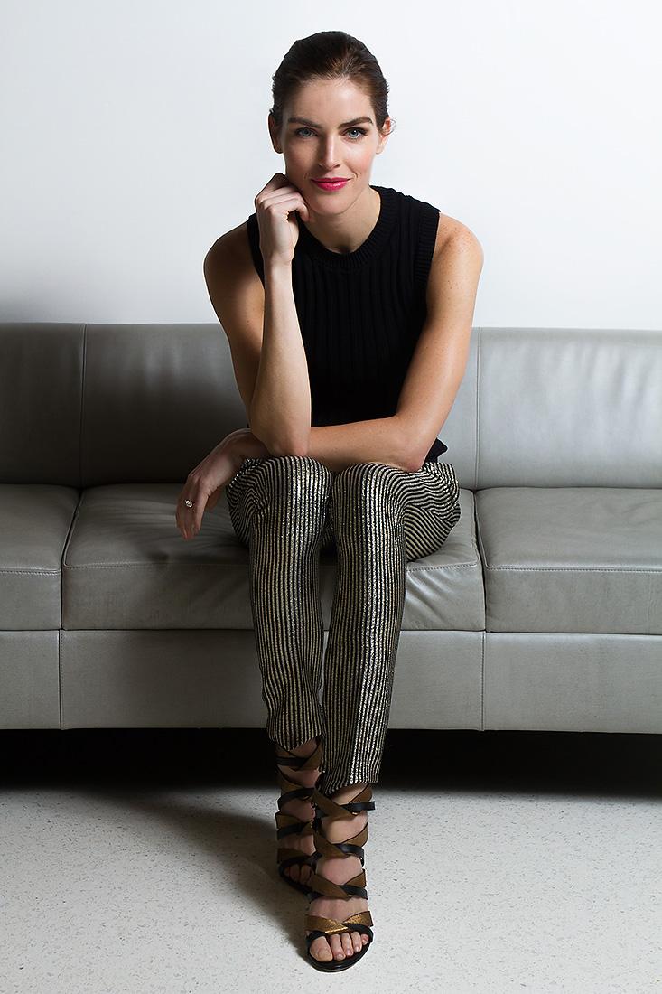 Hilary Rhoda, model