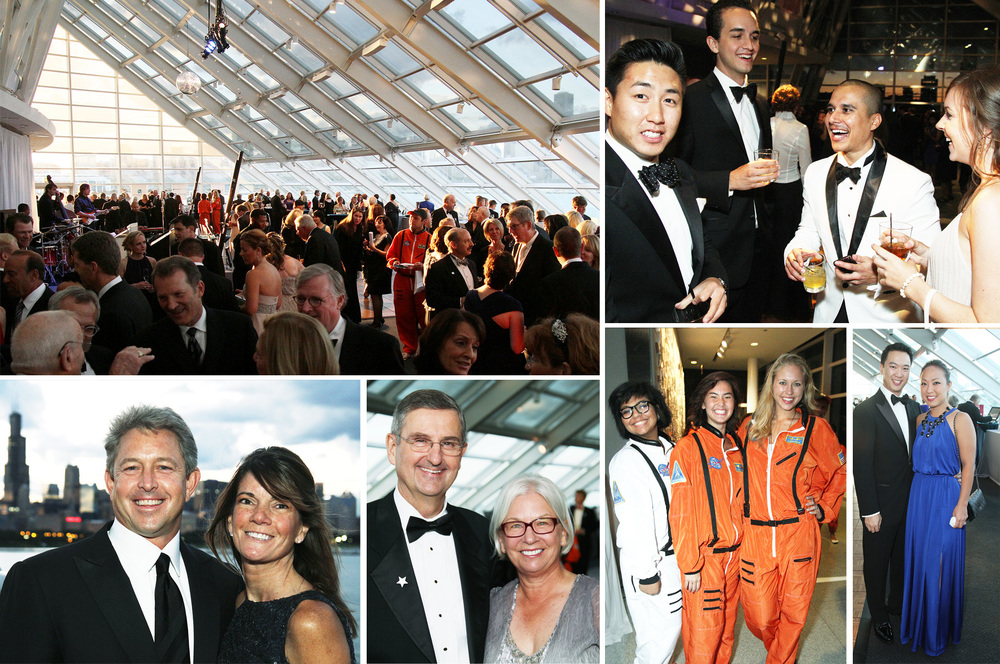 The Adler Planetarium's Celestial Ball, shot for the Chicago Sun-Times SPLASH lifestyle magazine